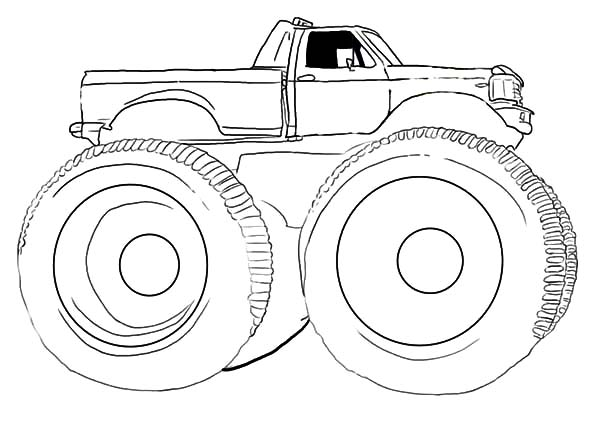 Car Tire, : Huge Car Tire Coloring Pages