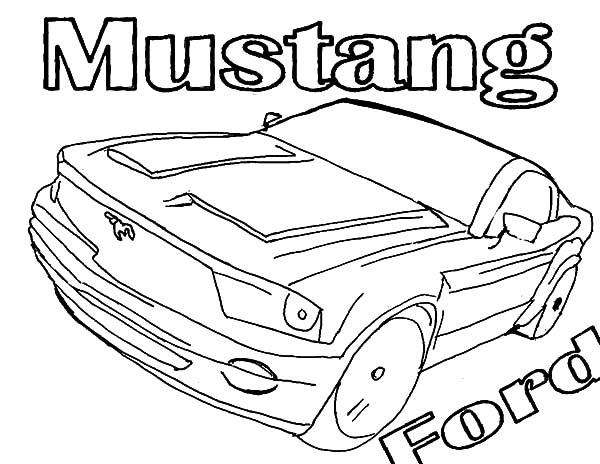 shelby mustang coloring pages - ford mustang shelby cobra gt 500 coloring pages ford