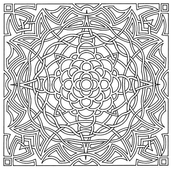 Religious Symbolism Celtic Cross Coloring Pages | Best Place to Color