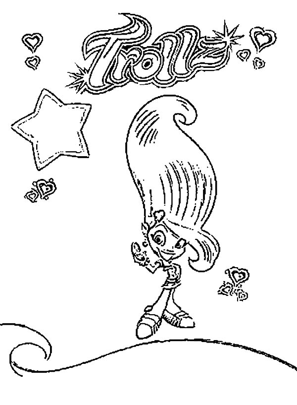 Trollz Coloring Pages (6) | Best Place to Color
