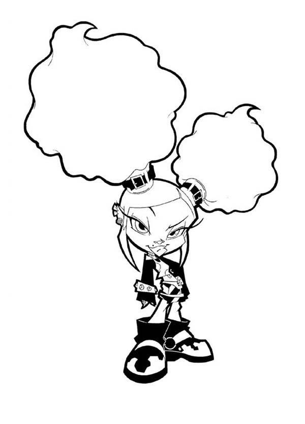 Trollz, : Trollz Onyx von Trollenberg Coloring Pages