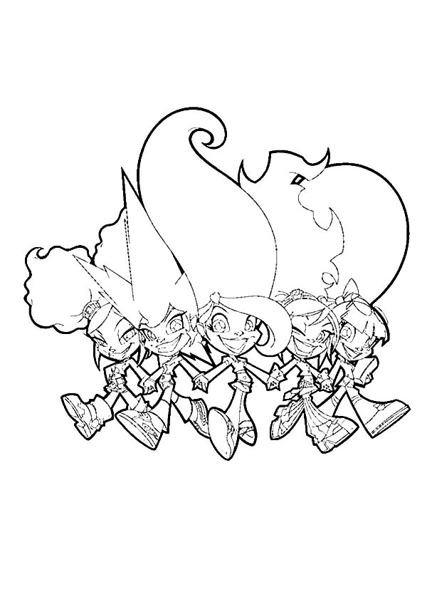 Trollz, : Trollz the Best Friends for Life Coloring Pages