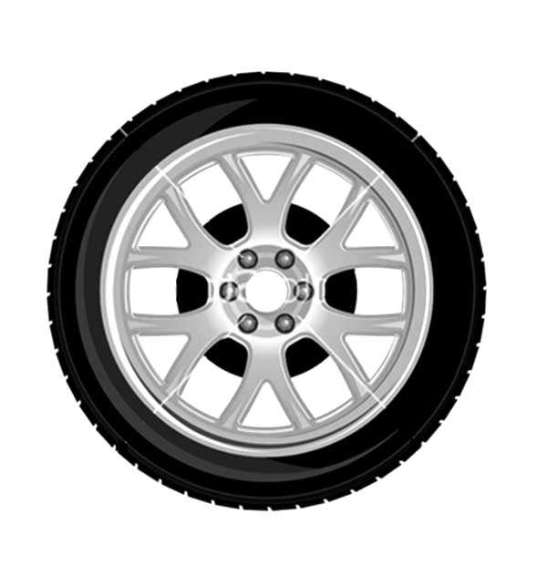 Car Tire, : Wheel and tire