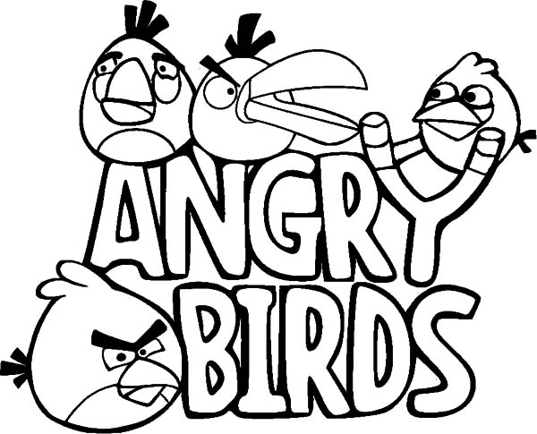 All Angry Birds Characters Coloring Pages Best Place To Color