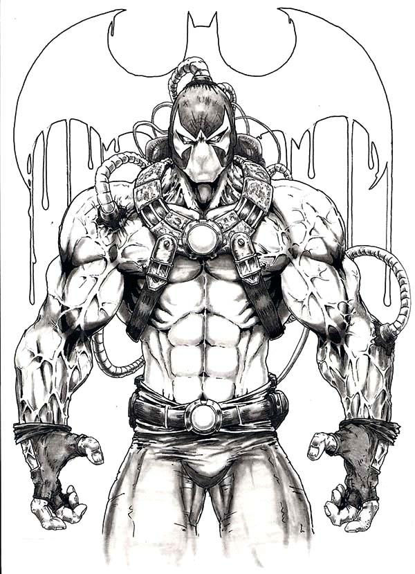 Awesome Picture Of Bane Batman Coloring Pages : Best Place ...