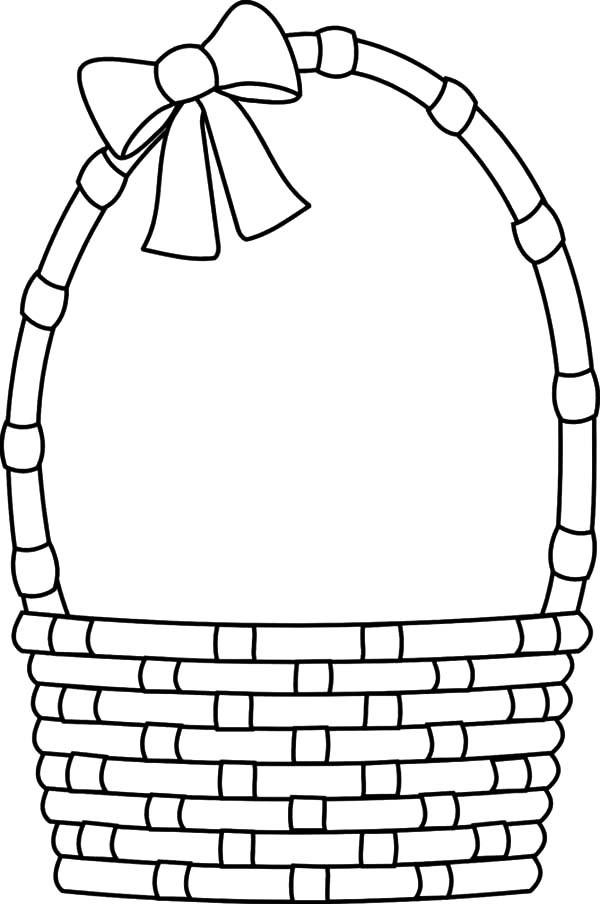 Empty Cornucopia Basket Coloring Page - Food Ideas