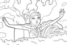 Princess Anna Beautiful Queen Elsa Coloring Pages : Best ...