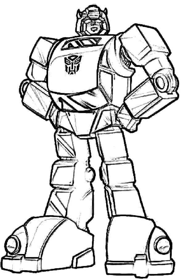 Autobots Bumblebee Car Transformer Coloring Pages ...