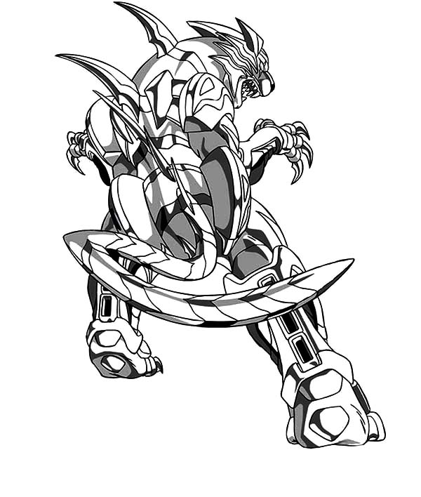 Bakugan Beyblade Coloring Pages : Best Place to Color