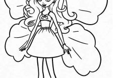 Barbie Thumbelina Coloring Pages Best Place To Color