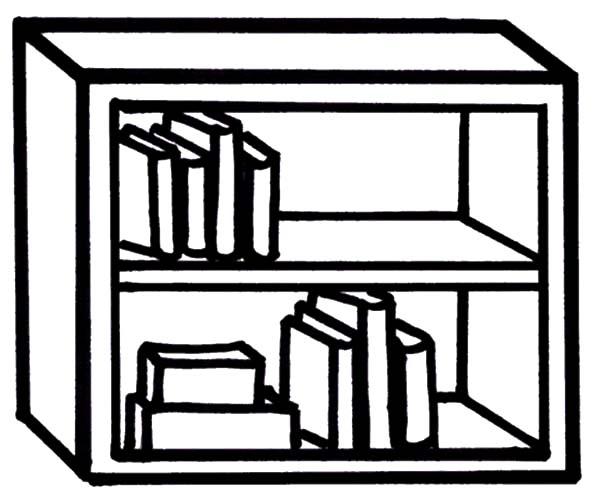 главное, картинка раскраска шкаф с полками необходимо продумать