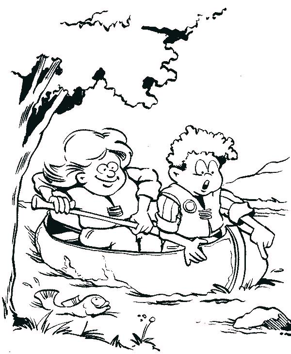 catching viper fish coloring pages - photo#41