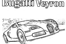 Racing Car Gt Bugatti Car Coloring Pages Best Place To Color