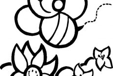 Chibi Bumble Bee Coloring Pages : Best Place to Color
