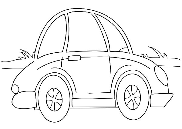 cars cartoon coloring pages - photo#30