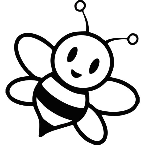 Chibi Bumble Bee Coloring Pages: Chibi Bumble Bee Coloring ...