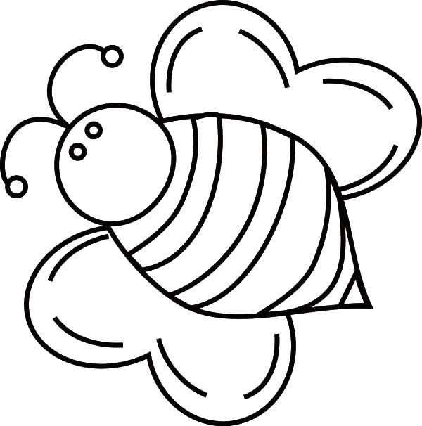 Fat Bumble Bee Coloring Pages Best Place To Color