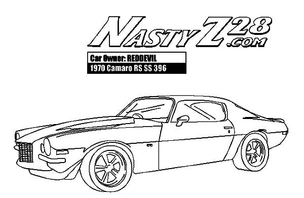 camaro coloring page - camaro ss coloring pages coloring pages