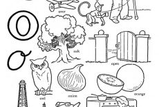 Alphabet Letter O Coloring Page Best Place To Color