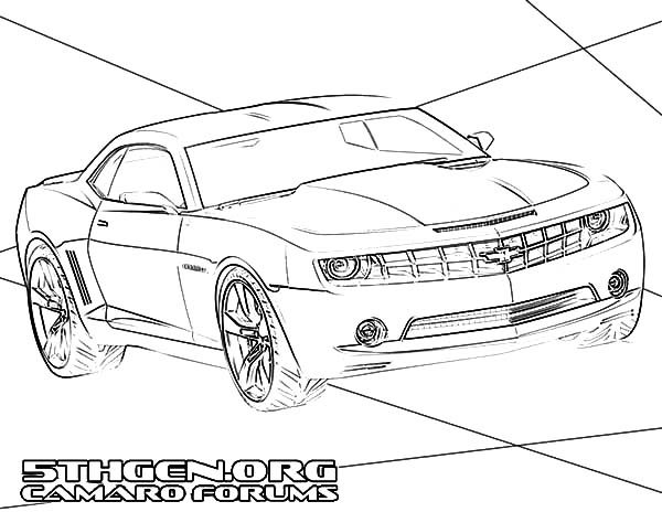 Camaro Cars Forums Coloring Pages Best Place To Color