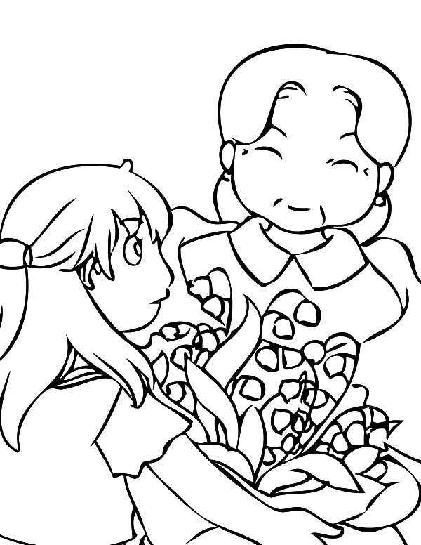 may day coloring pages - photo#26