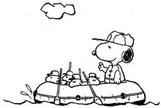 Snoopy Friend Woodstock Looking At Halloween Pumpkin Coloring Pages ...