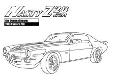 1967 Camaro Cars Ss Coloring Pages Best Place To Color