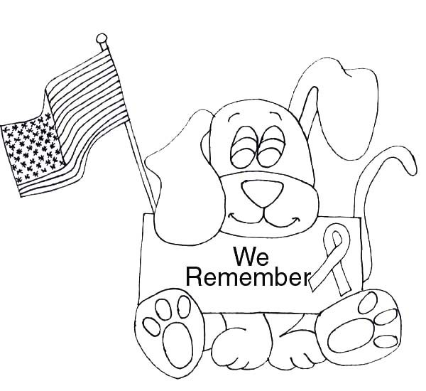 patriot day coloring pages - Free September Coloring Pages