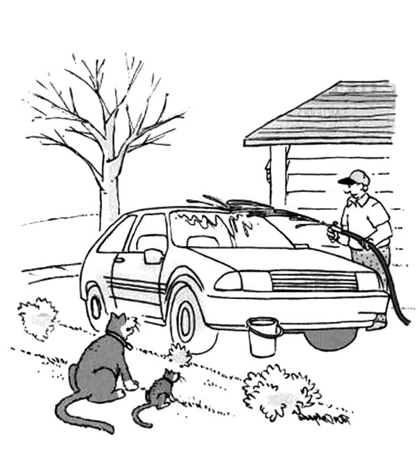 coloring pages carwash - photo#12
