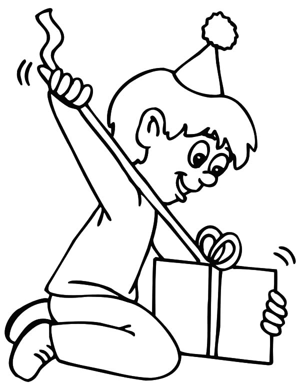 Seventh Birthday Boy Coloring Pages | Best Place to Color