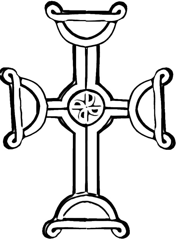 Amazing Celtic Cross Coloring Pages Best Place To Color