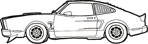 Mustang Coloring Page - GetColoringPages.com | 179x600