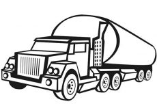 Car Transporter Big Cement Truck Coloring Pages Best Place To Color